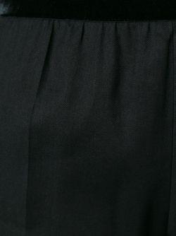 Брюки Прямого Кроя Haider Ackermann                                                                                                              чёрный цвет