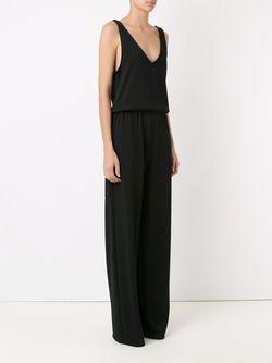 Belted Sleeveless Jumpsuit GLORIA COELHO                                                                                                              черный цвет