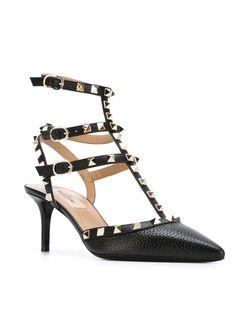 Туфли Rockstud Valentino                                                                                                              черный цвет