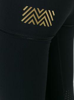 Укороченные Леггинсы Monreal London                                                                                                              черный цвет