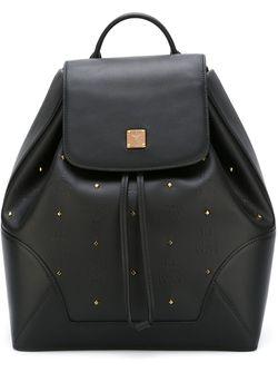 Рюкзак С Заклепками Claudia Studs MCM                                                                                                              чёрный цвет