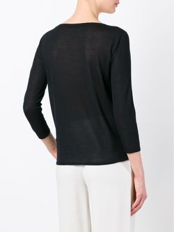 Трикотажный Джемпер Agnona                                                                                                              черный цвет