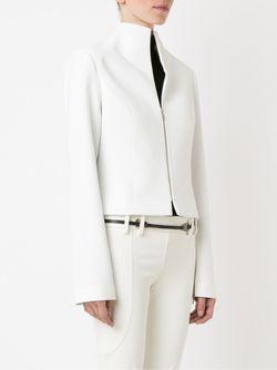 Zipped Blazer GLORIA COELHO                                                                                                              белый цвет