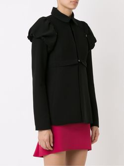 Removable Shoulder Puffs Jacket GLORIA COELHO                                                                                                              чёрный цвет