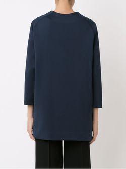 Oversized Coat GLORIA COELHO                                                                                                              синий цвет
