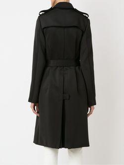 Mid-Lenght Belted Coat GLORIA COELHO                                                                                                              черный цвет