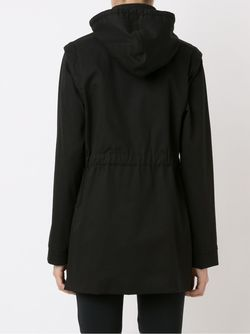 Removable Hood And Sleeves Coat GLORIA COELHO                                                                                                              серый цвет