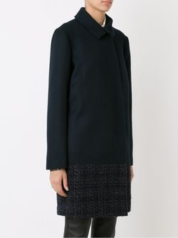 Tweed Panel Coat GLORIA COELHO                                                                                                              чёрный цвет