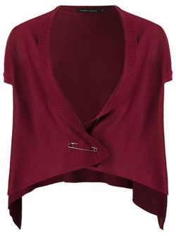 Knit Waistcoat GLORIA COELHO                                                                                                              красный цвет