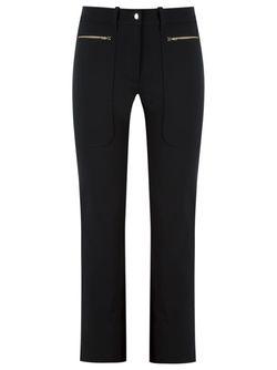 Side Pockets Trousers GLORIA COELHO                                                                                                              чёрный цвет