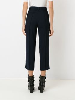 Cropped Trousers GLORIA COELHO                                                                                                              синий цвет