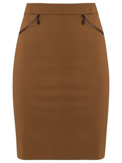 High-Waisted Skirt GLORIA COELHO                                                                                                              коричневый цвет
