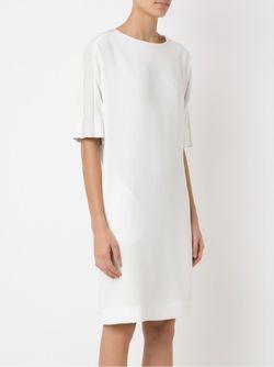 Side Pockets Dress GLORIA COELHO                                                                                                              белый цвет
