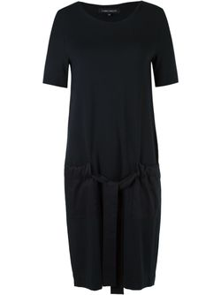 Side Pockets Dress GLORIA COELHO                                                                                                              черный цвет