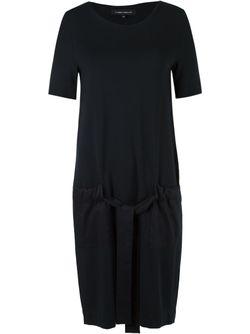 Side Pockets Dress GLORIA COELHO                                                                                                              черный цвет