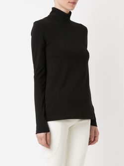 Turtle Neck Blouse GLORIA COELHO                                                                                                              чёрный цвет