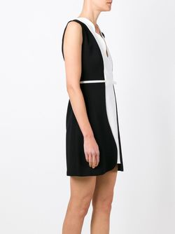 Приталенное Платье С Поясом Giambattista Valli                                                                                                              черный цвет