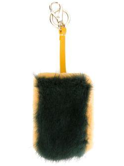 Фактурный Брелок Anya Hindmarch                                                                                                              зелёный цвет