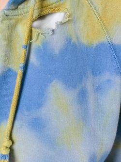 Толстовка С Принтом Тай-Дай Saint Laurent                                                                                                              зелёный цвет