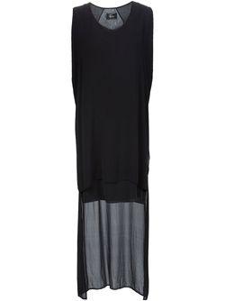 Платье Асимметричного Кроя LOST AND FOUND                                                                                                              чёрный цвет