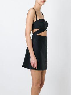 Платье С Вырезами Fausto Puglisi                                                                                                              черный цвет