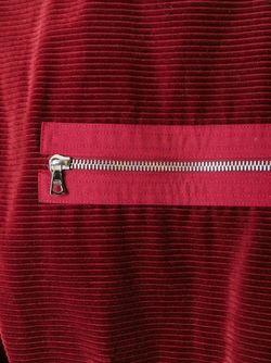 Платье С Карманами На Молнии COURREGES VINTAGE                                                                                                              красный цвет