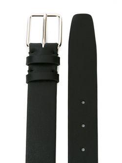 Классический Ремень Jil Sander                                                                                                              чёрный цвет