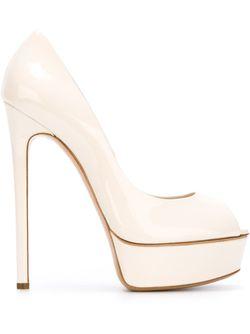 Туфли На Платформе Casadei                                                                                                              Nude & Neutrals цвет
