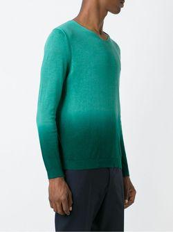 Свитер С Эффектом Градиент Burberry Brit                                                                                                              зелёный цвет