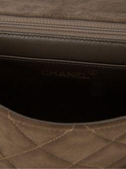 Сумка На Плечо С Цепочными Ручками Chanel Vintage                                                                                                              коричневый цвет