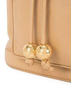 Сумка На Плечо Со Шнуровкой Chanel Vintage                                                                                                              коричневый цвет