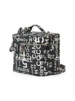 Чемоданчик Для Косметики 2way Chanel Vintage                                                                                                              чёрный цвет