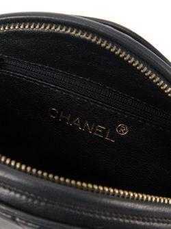 Стеганая Сумка С Бахромой Chanel Vintage                                                                                                              чёрный цвет