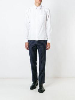Брюки В Тонкую Полоску Givenchy                                                                                                              синий цвет