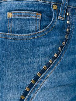 Джинсы Кроя Скинни Versace Collection                                                                                                              синий цвет