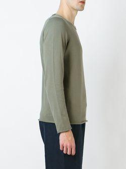Свитер С Круглым Вырезом SOCIETE ANONYME                                                                                                              зелёный цвет