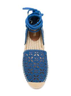 Эспадрильи С Перфорированным Дизайном Michael Michael Kors                                                                                                              синий цвет