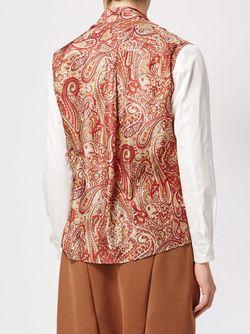 Рубашка С Принтом Пейсли DIGAWEL                                                                                                              красный цвет