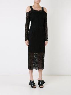 Платье Raw Intent С Длинными Рукавами MANNING CARTELL                                                                                                              черный цвет