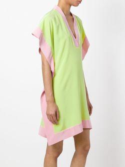 Платье С Контрастным Подолом Marco Bologna                                                                                                              розовый цвет