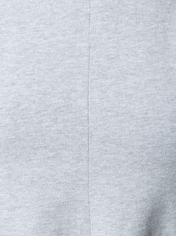 Короткое Расклешенное Платье T By Alexander Wang                                                                                                              серый цвет