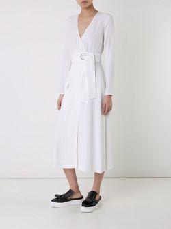Платье С Запахом A.L.C.                                                                                                              белый цвет