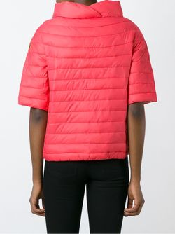 Дутая Куртка С Короткими Рукавами Save The Duck                                                                                                              розовый цвет