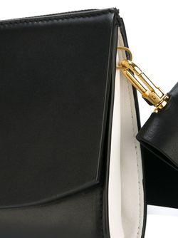 Сумка На Плечо Дизайна Колор-Блок DESA                                                                                                              черный цвет