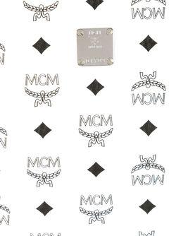 Клатч С Логотипом MCM                                                                                                              белый цвет