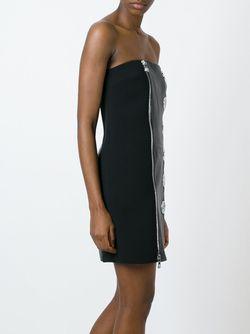 Платье Без Бретелек Versus                                                                                                              чёрный цвет