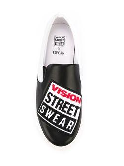 Кеды Vision Street Wear X Swear                                                                                                              черный цвет