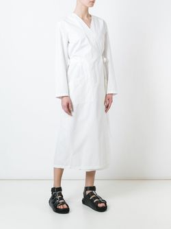 Платье С Запахом MM6 by Maison Margiela                                                                                                              белый цвет
