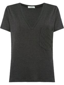 V-Neck Blouse EGREY                                                                                                              черный цвет