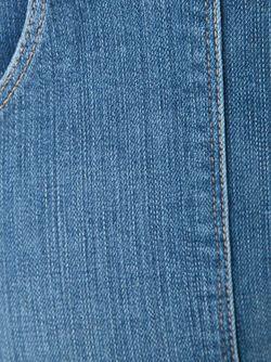 Расклешенные Джинсы С Завышенной Талией Frame Denim                                                                                                              синий цвет
